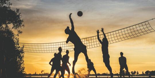 Kolsnäs och beachvolleyboll